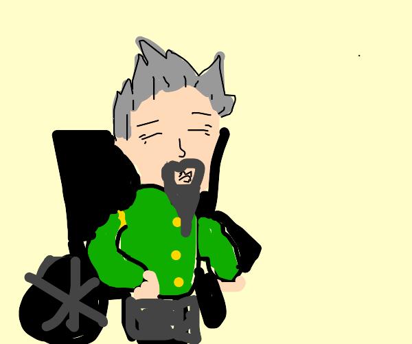 koichi from jojo but old