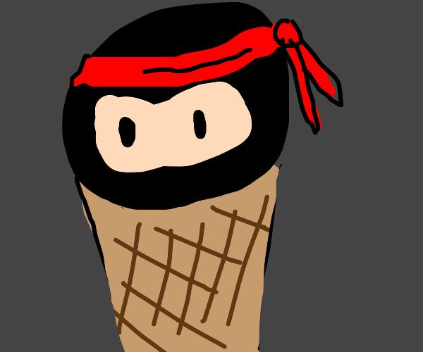 Ninja in a cone