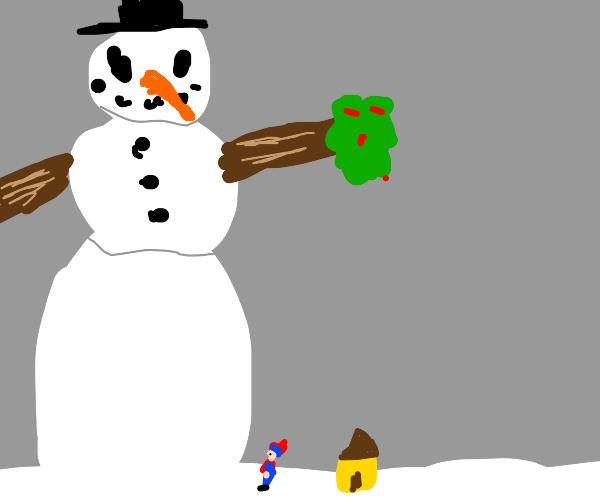 Massive Snowman