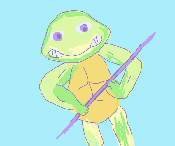 Obviously Donatello because of the bo staff