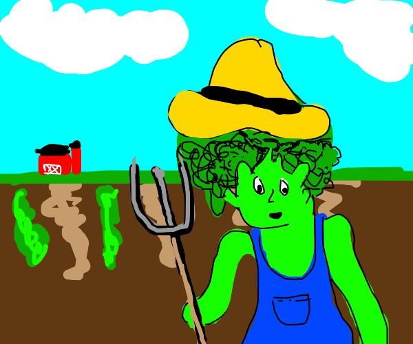 broccoli farmer