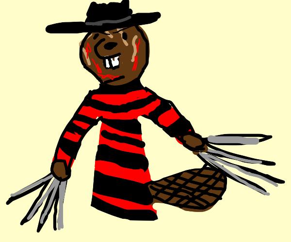 Beaver Freddy Krueger