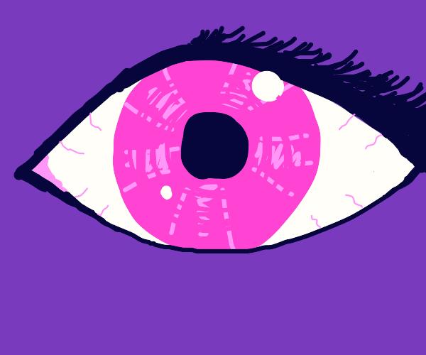 Girl's Pink Eye