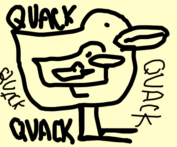 duck inside of a duck in a duck in a duck