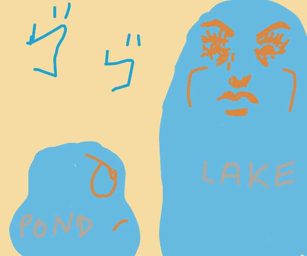 Pond meets Lake