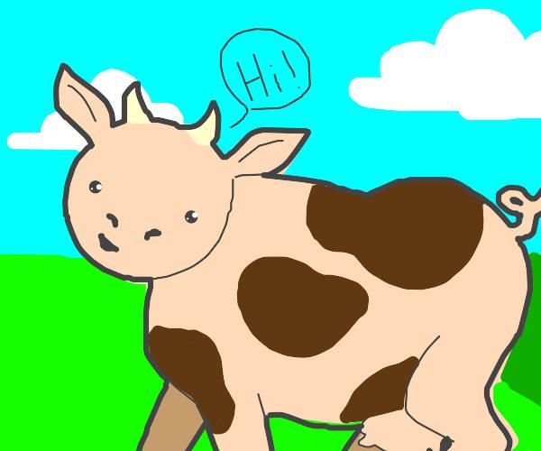 cowpig saying hi