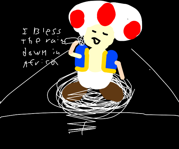 Toad's talent show performance