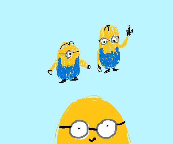 Squiggly minion