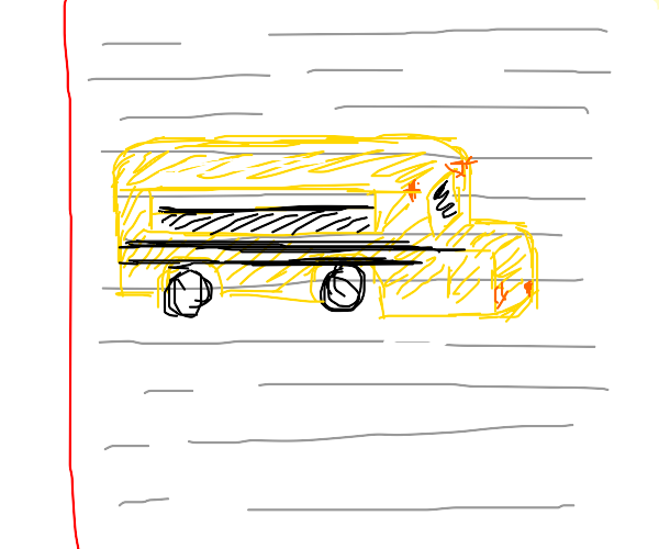 Sketchy Bus Stop