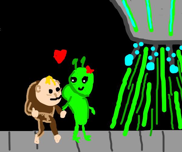 Quasimodo finds self love. Aliens abduct him.