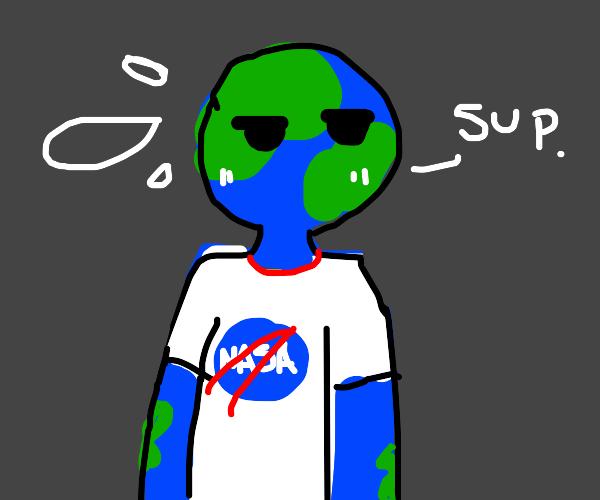 earth = man?