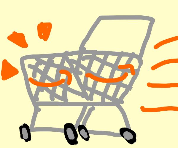 Amazon shopping basket