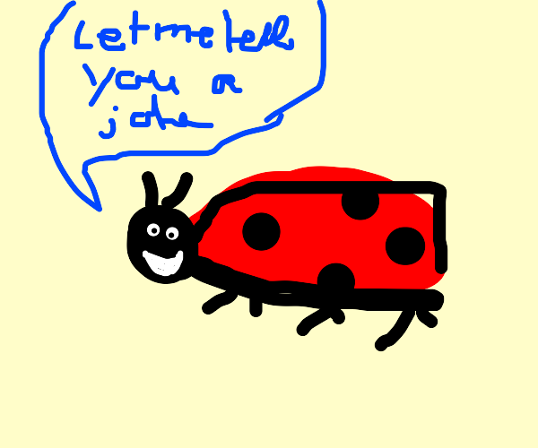 a humorous insect