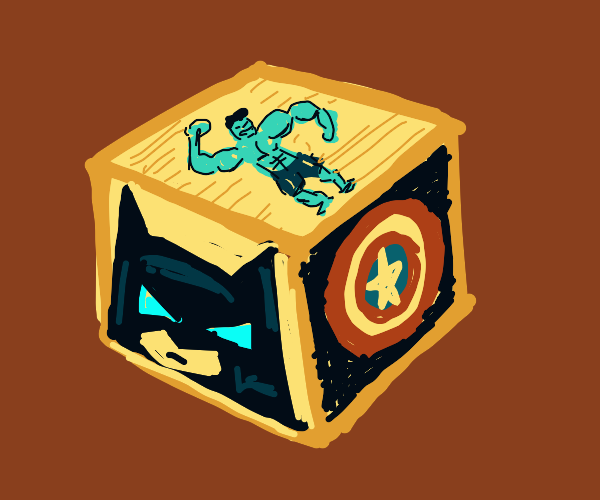 superhero cube