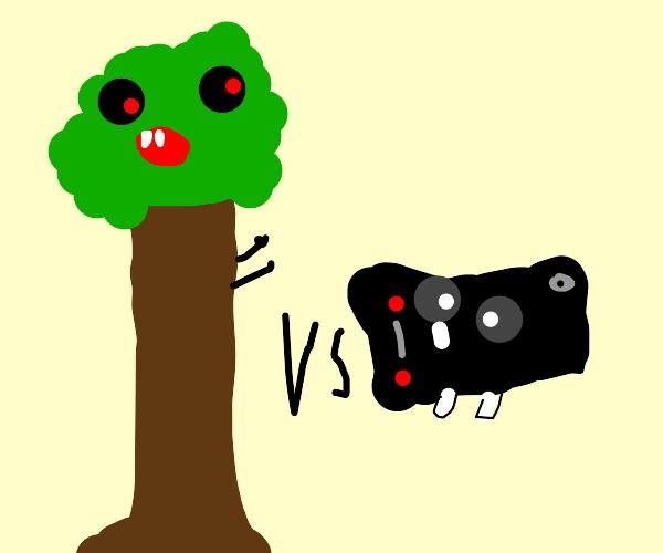 Tree vs Monitor