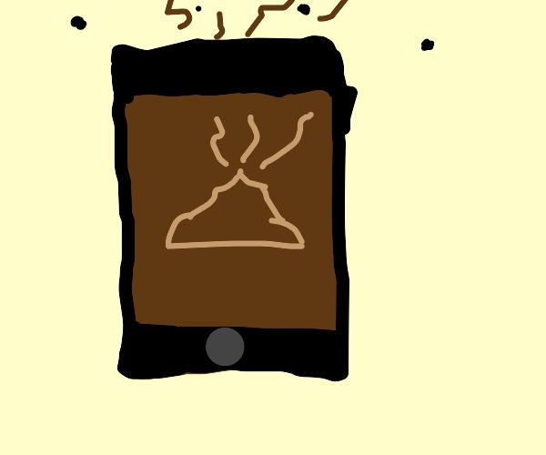 sh!tty phone (literal)