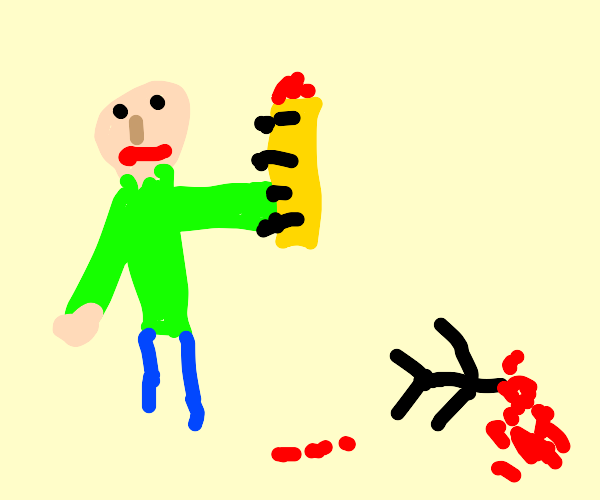 Baldi DESTROYS Young Child with Ruler