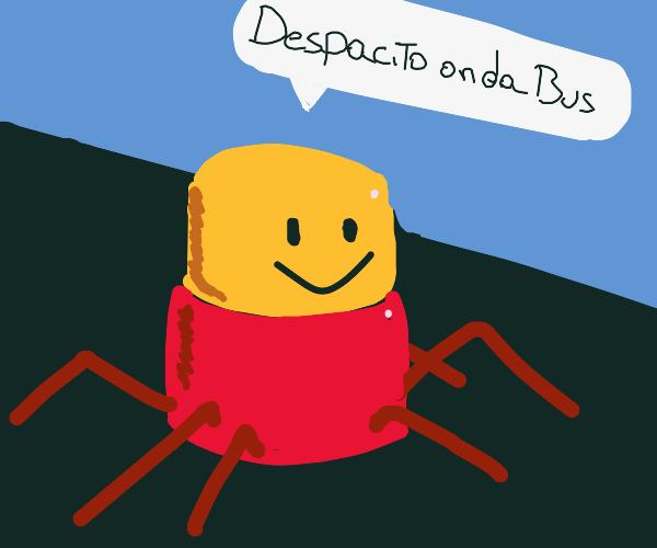 despacito spiders on a bus