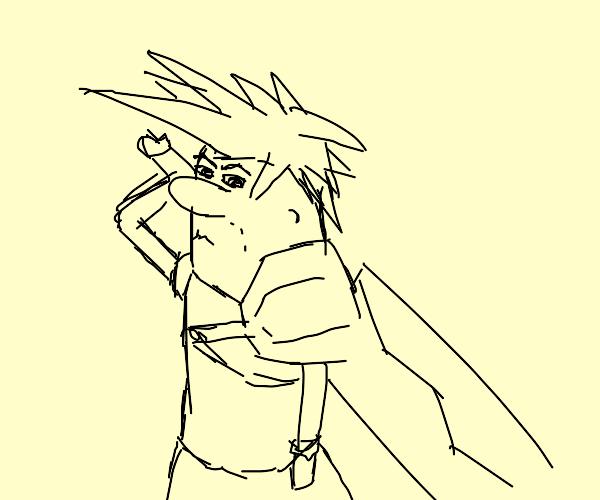 Barney Rubble as a Final Fantasy character