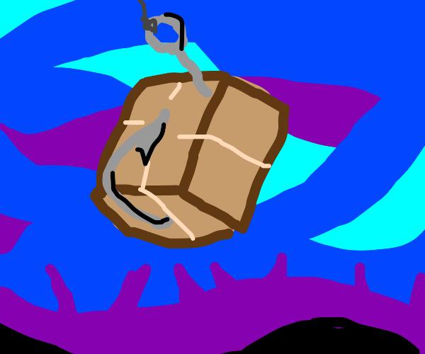 Fishing parcel