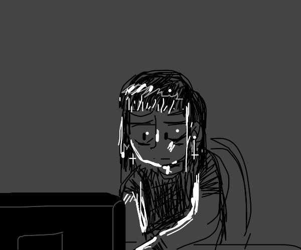 Goth on computer