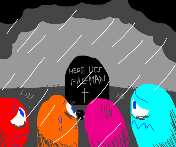 The ghosts have lost pacman