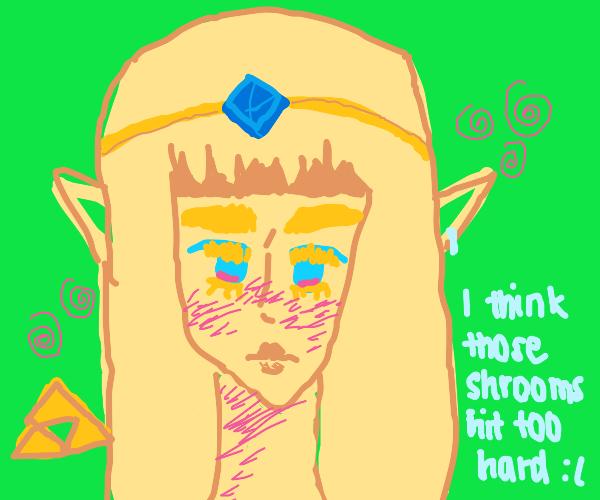 Zelda with Possible Psychedelics