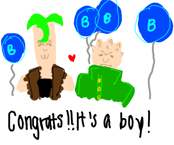 Pesci and shigechi are having a baby!!!