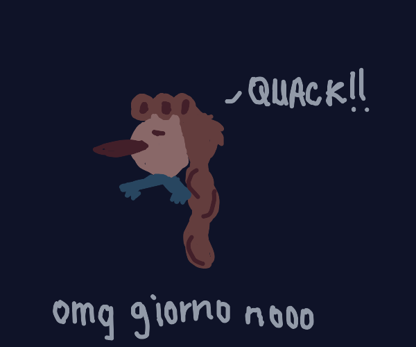 Gold Experience Turned Giorno Into A Duck