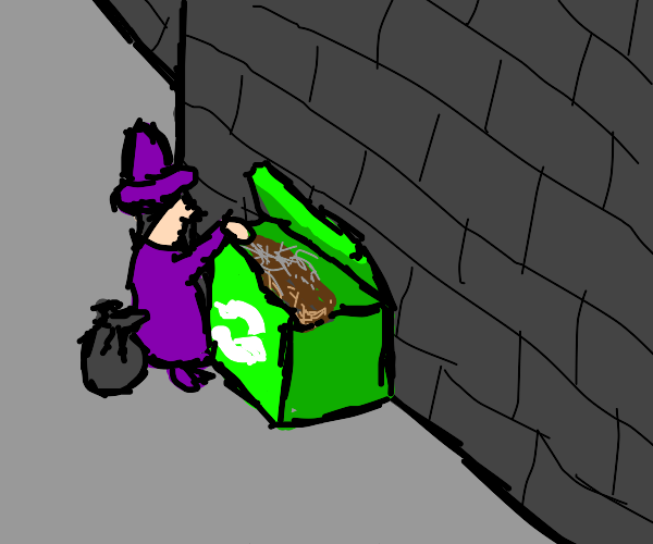Wizard is recycling