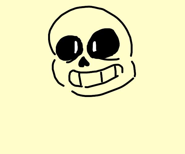 Sans skull