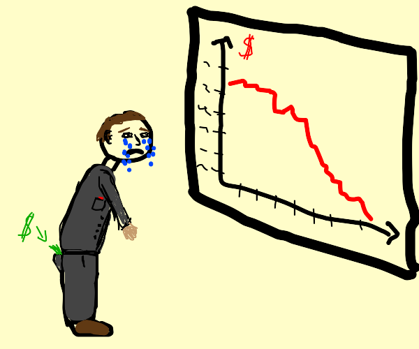 Sad Investor