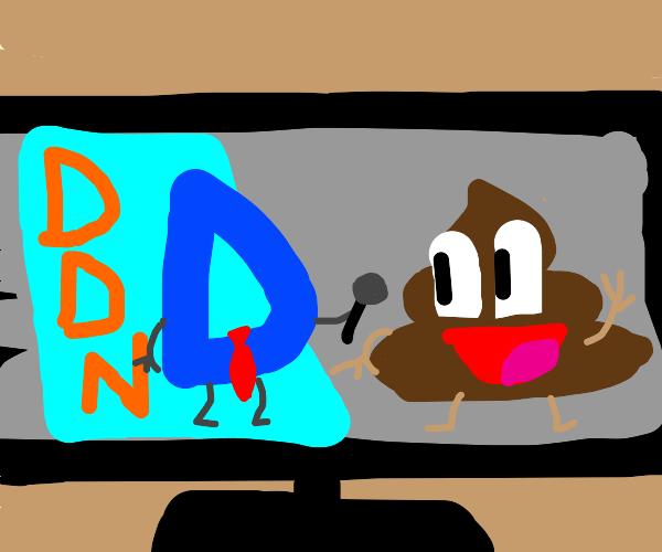 Drawception News Network Interviews Mr. Poop