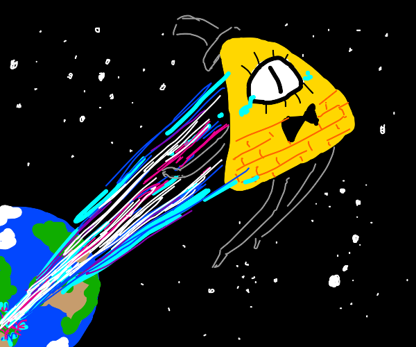 Bill Cypher blasted into Space