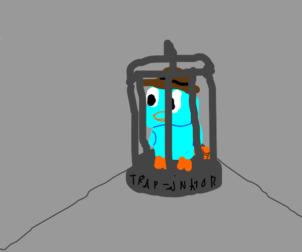 Mr. Perry in cage...again