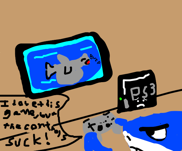 PS3 Controls Not Intuitive Enough For Shark