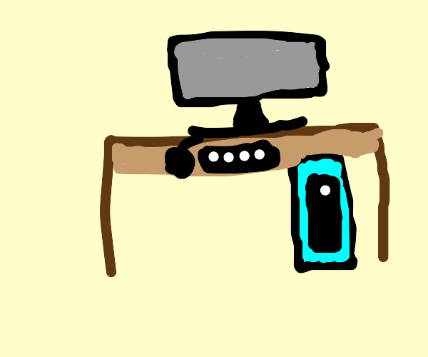 Gaming PC station
