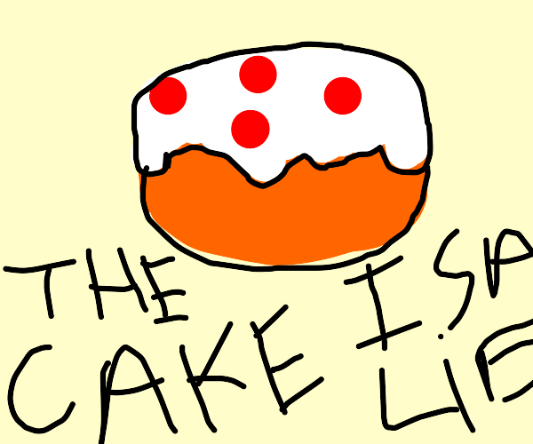 sLIEce of cake