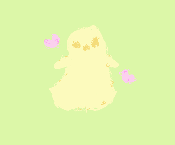 fuzzy ghost loves you