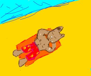 Werewolf Vacationing