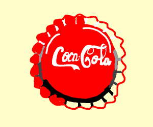 A Coca Cola bottle cap