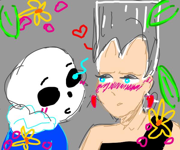 sans and polnareff flirt