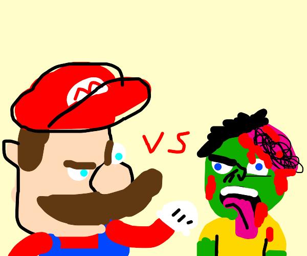 mario vs. zombie