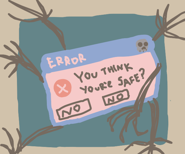 When Windows error messages become sentient..