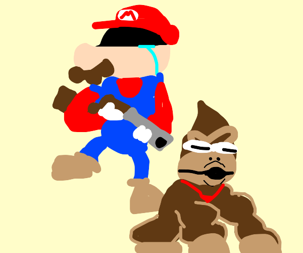 It's-a over, Donkey Kong!