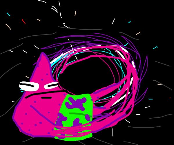 spaghettiification of patrick star