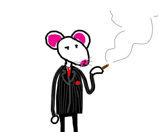 Rat in a suit