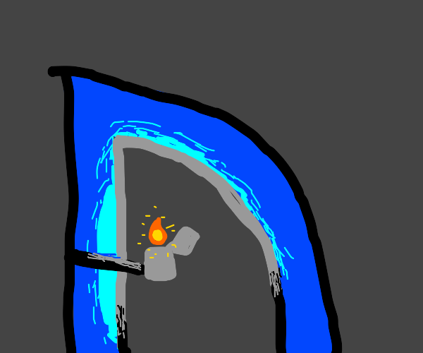 Drawception with a lighter