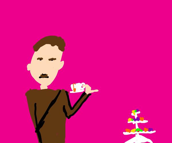 Hitler at a tea party