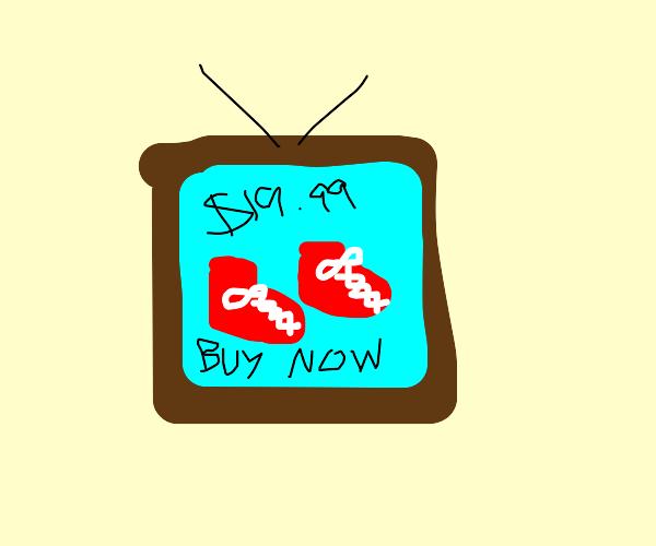 """Buy Shoes!"" TV Advertisement"